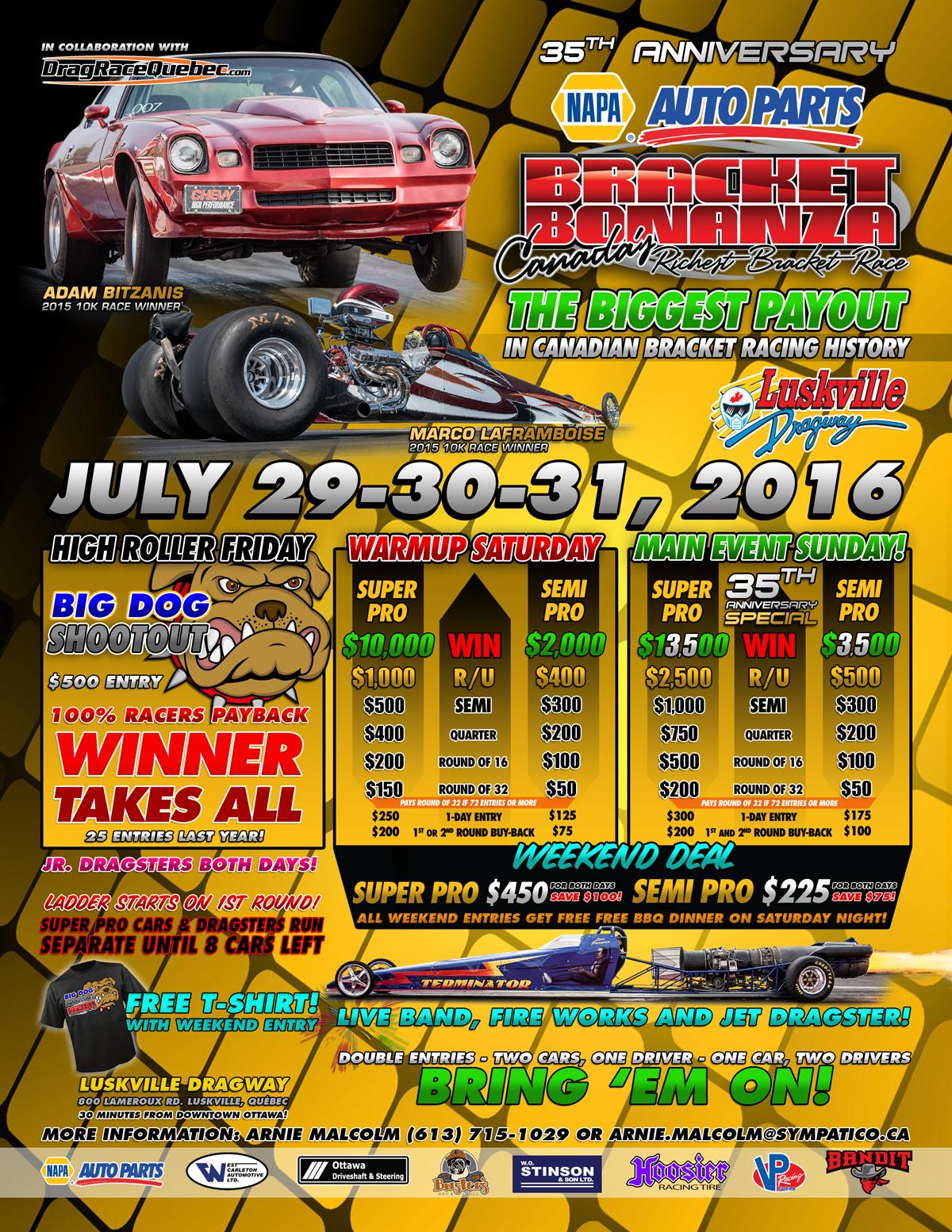 2016 Bonanza Flyer