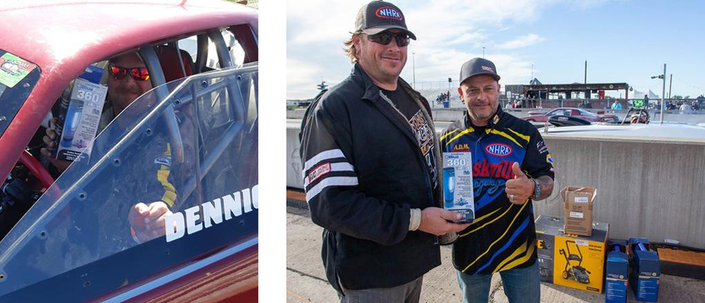 Gagnants des premières lumières parfaites en élimination: Chris Dennique (Super Pro) et Fred McDonald (Pro)