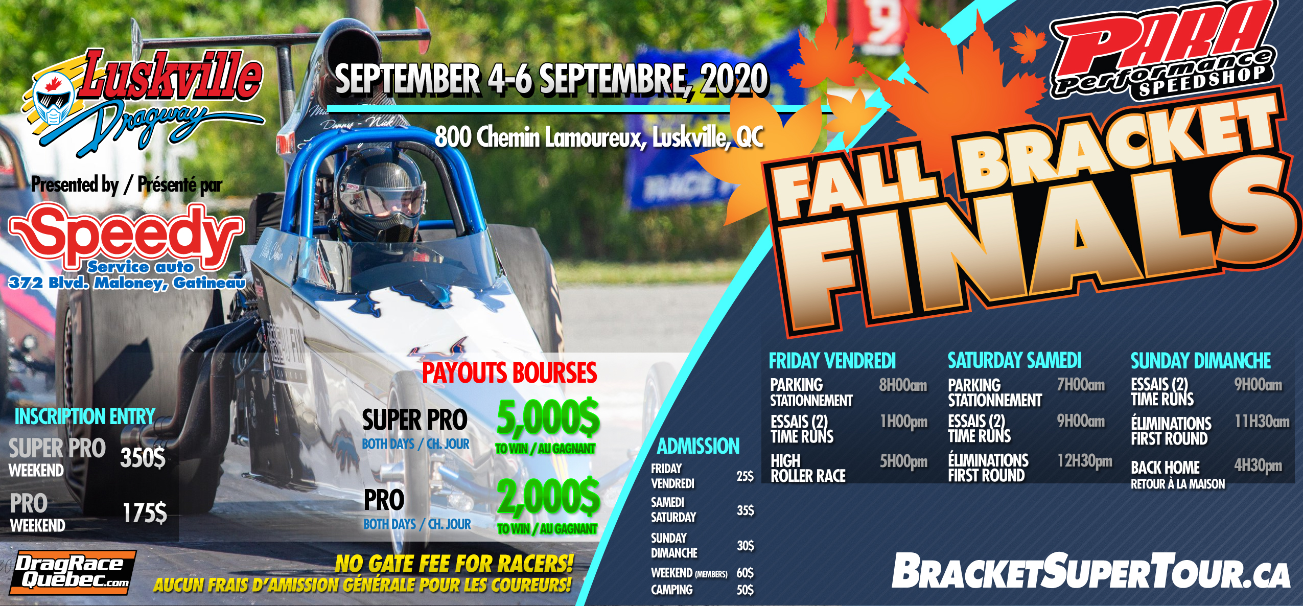 2020-08-25 Horaire Fall Bracket